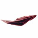 Гаманець жіночий шкіряний червоний AKA 439/301К