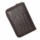 Кошелек для документов кожаный коричневый KARYA 1147/204К