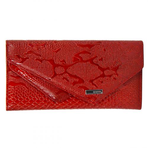Кошелек из натуральной кожи красный KARYA 1115/309К