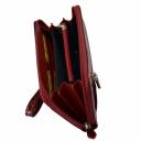 Кошелек клатч кожаный с тиснением AKA 430/305-105К