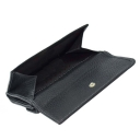 Кошелек кожаный черный AKA 464/101К