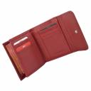 Кошелек кожаный красный AKA 464/301К