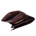 Кошелек кожаный бордовый AKA 472/311К