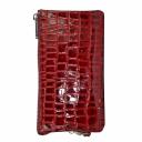 Кошелек кожаный бордовый крокодил KARYA 1075/315К