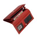 Кошелек кожаный красный Karya 1101/301К