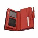 Кошелек кожаный красный KARYA 1119/309К