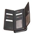 Кошелек кожаный коричневый KARYA 1140/209К