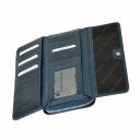 Кошелек кожаный синий KARYA 1140/401К