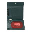 Кошелек кожаный женский зеленый AKA 445/501К