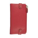 Кошелек женский кожаный красный AKA 400/301К