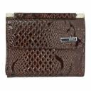 Кошелек женский кожаный коричневый AKA 439/209К