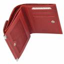 Кошелек женский кожаный красный AKA 439/309К