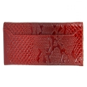 Кошелек женский кожаный красный KARYA 1015/309К