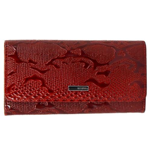 Кошелек женский кожаный красный KARYA 1061/309К
