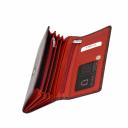 Кошелек женский кожаный бордовый KARYA 1088/315К