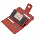 Кошелек женский кожаный красный KARYA 1119/301К