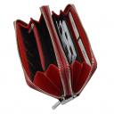 Кошелек женский на молнии KARYA 1134/315К бордовый