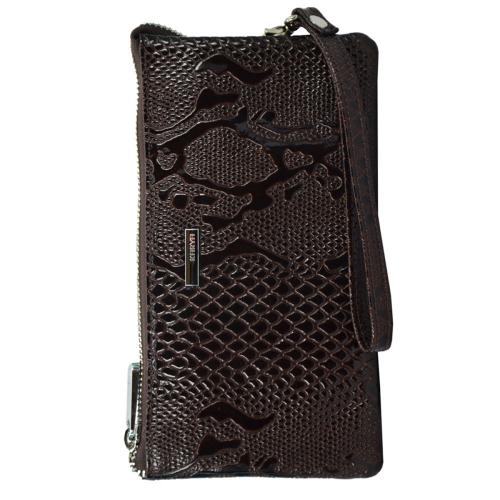 Кошелёк женский кожаный коричневый KARYA 1075/209К