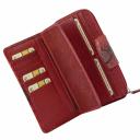Кожаный кошелек с тиснением AKA 428/309-101К