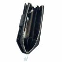 Кожаный кошелек черный KARYA 1119/109К