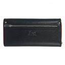Кожаный кошелек черный KARYA 1131/101-301К
