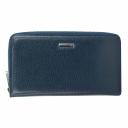 Кожаный кошелек женский синий KARYA 1072/401К