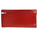 Кожаный кошелек женский красный KARYA 1115/300К