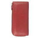 Красный кошелек кожаный AKA 441/301К
