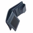 Маленький кошелек женский синий AKA 458/401К