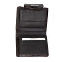 Маленький кошелек женский с тиснением питон KARYA 1052/209К