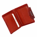 Маленький кошелек женский кожаный красный KARYA 1052/309К