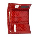 Маленький кожаный кошелек красный KARYA 1063/300К