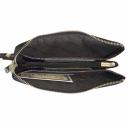Шкіряний гаманець чорний KARYA 1075/109К