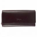 Шкіряний гаманець бордовий KARYA 1131/311К