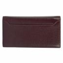 Шкіряний гаманець жіночий бордовий KARYA 1015/311К