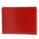 Женское портмоне из натуральной кожи красное KARYA 1065/300К