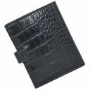 Чоловіче портмоне з натуральної шкіри чорне KARYA 0912/104К
