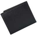 Кошелек мужской кожаный черный KARYA 0941/101К