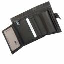 Кожаное портмоне коричневое KARYA 0912/204К