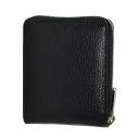 Кожаное портмоне черное мужское KARYA 0962/101К