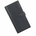 Кожаный кошелек мужской черный AKA 805/101К