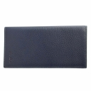 Кожаный кошелек мужской синий AKA 806/401К
