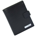 Мужское портмоне из натуральной кожи черное KARYA 0912/101К