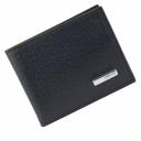Зажим кошелек кожаный черный KARYA 0903/101К